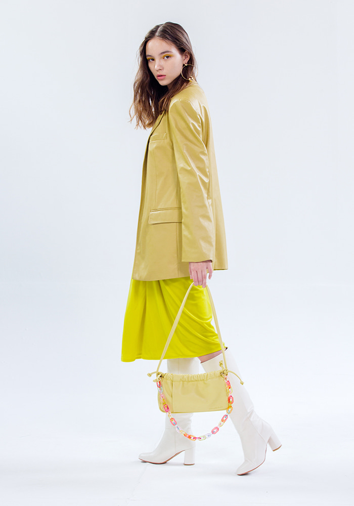 1421 cassette bag (yellow)